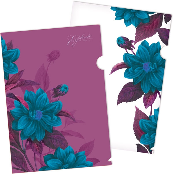 "Папка - уголок ""E.K."" Night illusion 33629 4шт/наб"