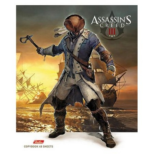 "Тетрадь 48л 48Т5В1 ""Assassin creed"" (100)"