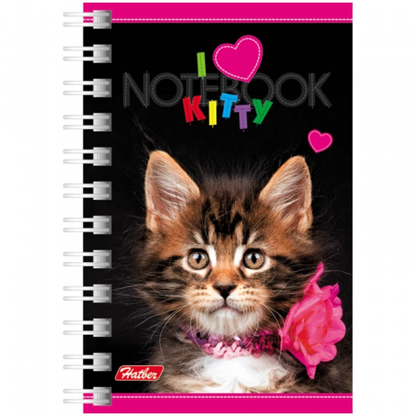 "Записная книжка 40ЗК7В1гр ""I Love kitty"" (144)"