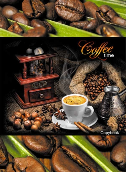 "Тетрадь 96л Т4ск96_2581 ""Coffee time"" (5/25)"