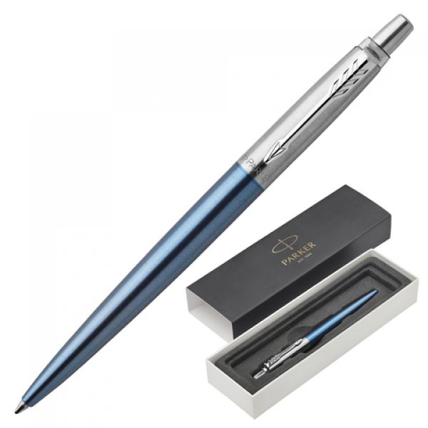 "Ручка шарик. ""Parker"" Jotter Waterloo Blue CT 1953191 синяя"