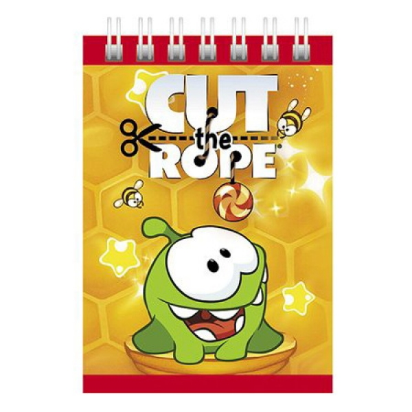 "Блокнот 40Б7Вгр  ""CUT THE ROPE"" (100)"